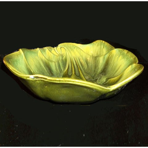 Green Deforest Pottery Bowl - Image 3 of 5