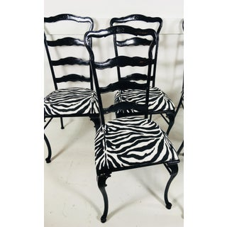 1950s French Cast Iron Garden Chairs - Set of 6 Preview