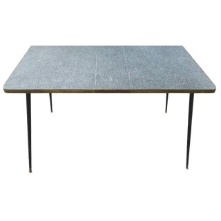Mid-Century Formica Laminate Table For Sale
