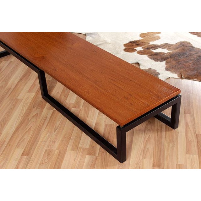 Restored Paul Tuttle for Baker Coffee Table - Image 4 of 6
