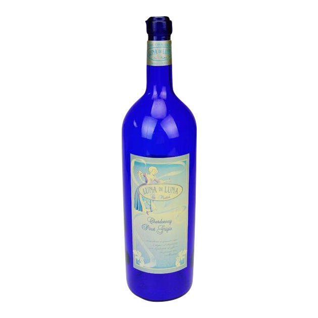Luna di Luna Wine Display Bottle For Sale