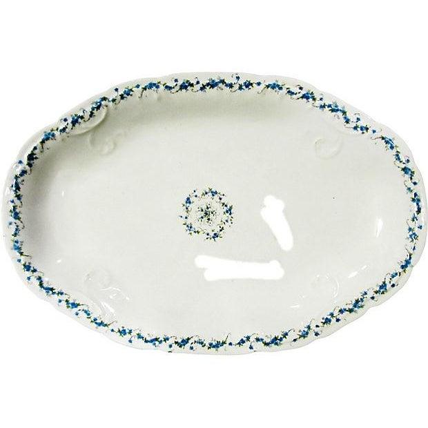 Antique Austrian Serving Platter For Sale