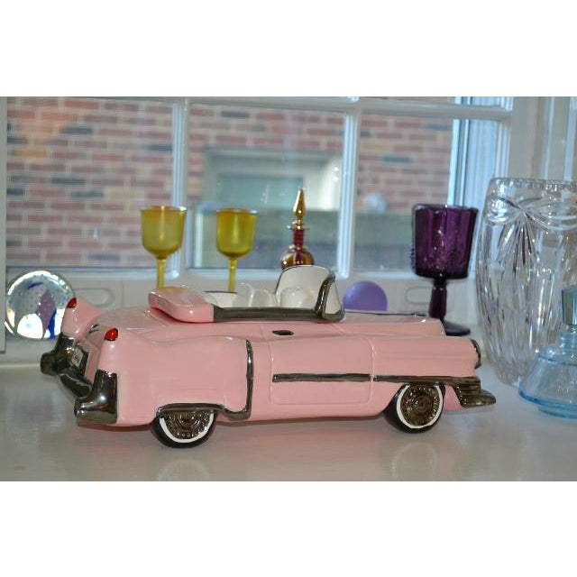 Pink Cadillac Cookie Jar For Sale - Image 5 of 10