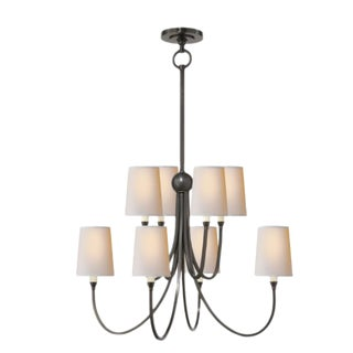Visual Comfort Reed Chandelier Large For Sale