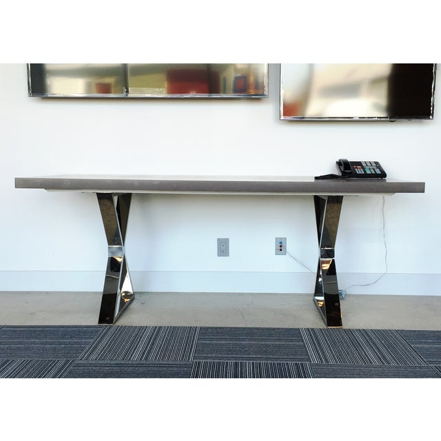 Contemporary Dining Table - Image 6 of 7