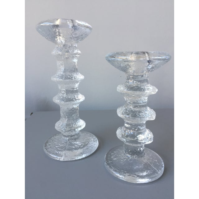 Iittala Festivo Candle Holders - A Pair - Image 3 of 3
