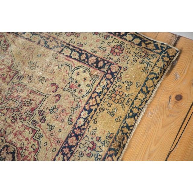 "Antique Kerman Rug - 4'1"" X 5'10"" - Image 6 of 8"