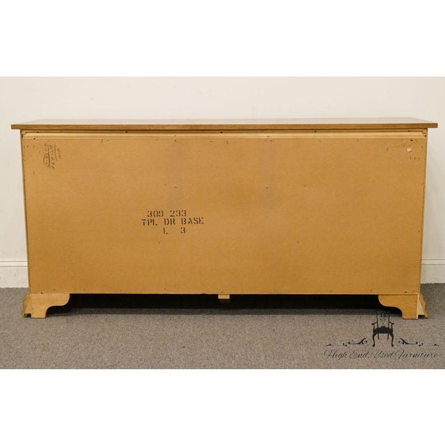 Vintage Dixie Asian Chinoiserie Triple Dresser For Sale - Image 12 of 13