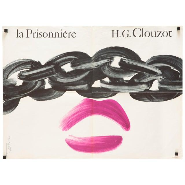 """La Prisonniere"" 1968 French Film Poster - Image 1 of 3"