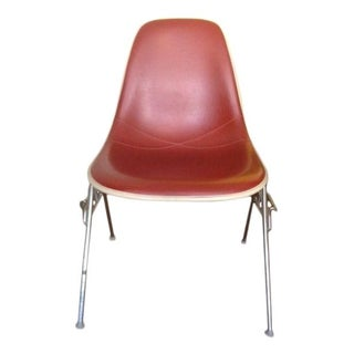 Eames Aluminum Red Group Chair