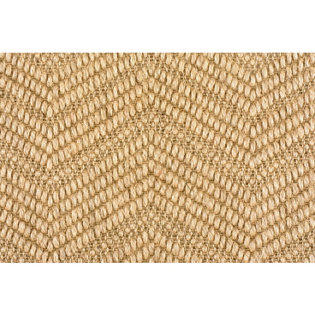 Contemporary Stark Studio Rugs, Elan, Seagrass, Sample For Sale - Image 3 of 3