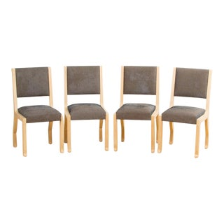 French Marc Du Plantier Style Chairs - Set of 4 For Sale