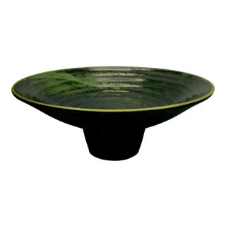 Flared Conical Studio Pottery Bowl For Sale