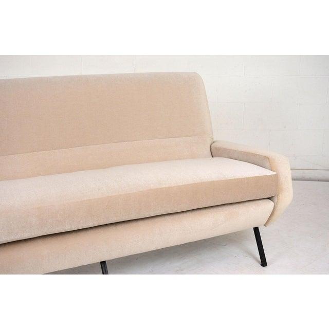 Iron Italian Mid-Century Modern Sofa For Sale - Image 7 of 9