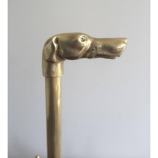 1940s, French Brass Umbrella Stand - Image 3 of 11