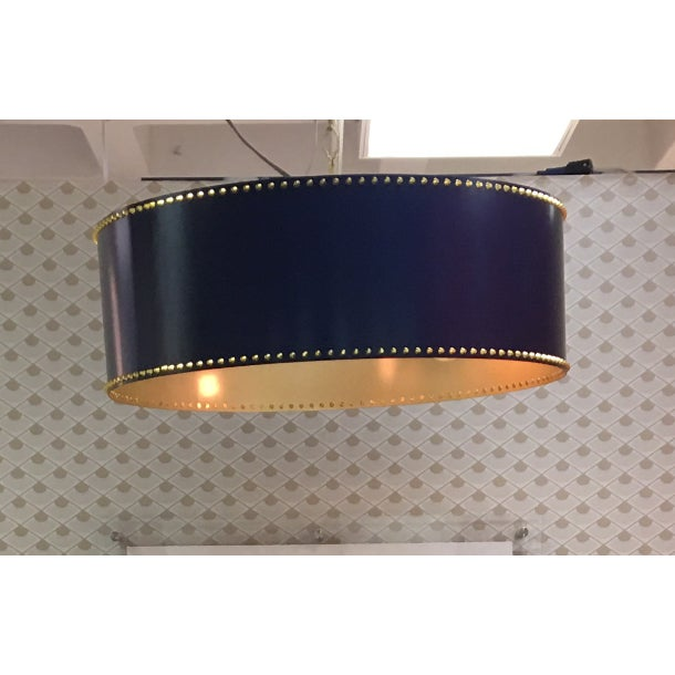 Taylor Burke Home Navy Pendant Light - Image 3 of 3