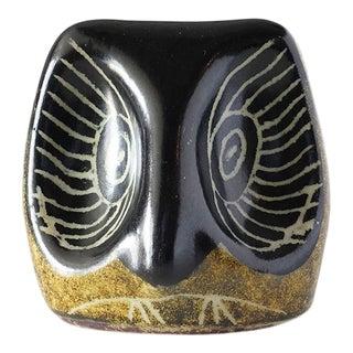 1980s Ricardo Nowinski Uruguay Owl Sculpture For Sale