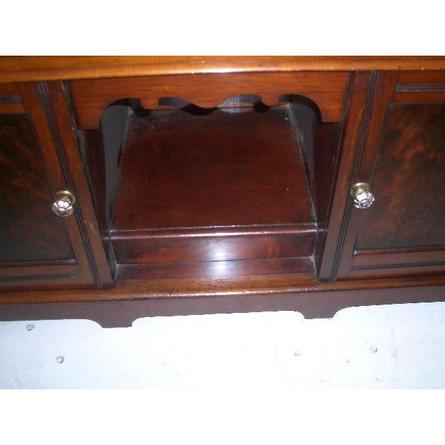 Antique English Mahogany Vanity Dressing Table For Sale - Image 4 of 7
