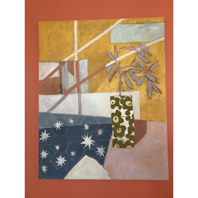 Starry Afternoon Contemporary Painting by Taelor Fisher For Sale - Image 6 of 6
