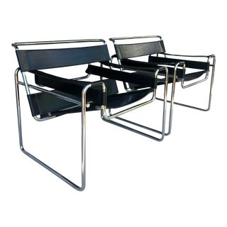 2 Wassily Chairs by M.Breuer for Knoll For Sale