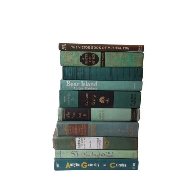 Green Distressed Books - Set of 10 - Image 4 of 4