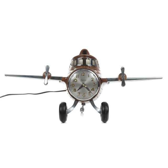 MasterCrafters Sessions Airplane Electric Clock - Image 2 of 10