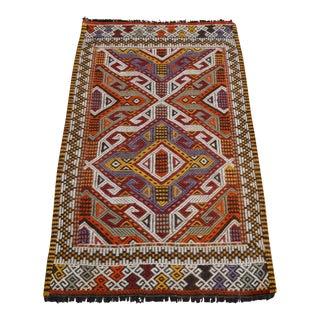 Handwoven Turkish Kilim Rug For Sale