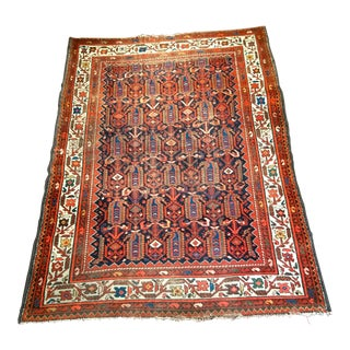Early 20th Century Persian Malayer Rug - 4′6″ × 6′1″