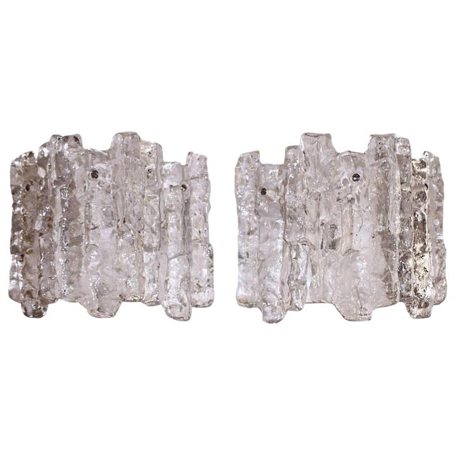 Pair of Kalmar Icicle Sconces - Image 1 of 6