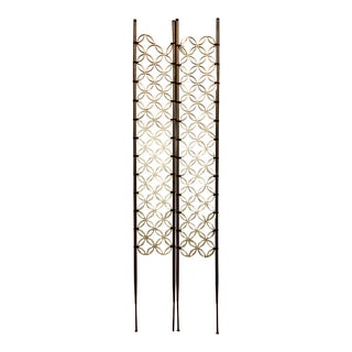 Mid-Century Modern Room Divider Panels - a Pair For Sale