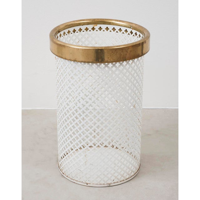 Brass Waste Paper Basket by Josef Frank by Firma Svenskt Tenn For Sale - Image 7 of 7