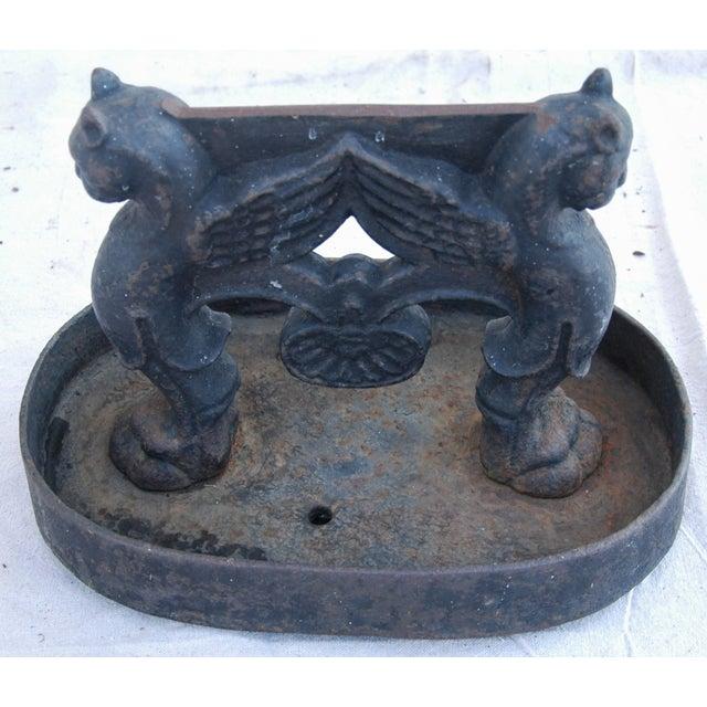 Antique English Cast Iron Boot Scraper - Image 5 of 10