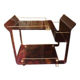 Image of 1970s Vintage Italian Bar Cart For Sale
