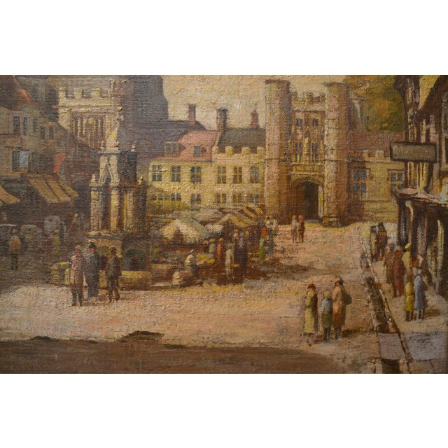 Antique 19th Century English Oil on Canvas