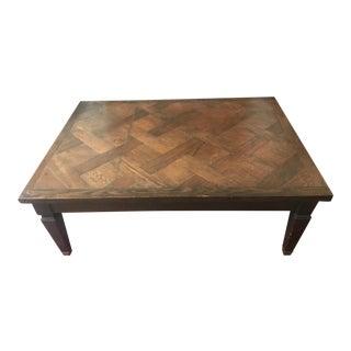 Custom Made Oak Coffee Table