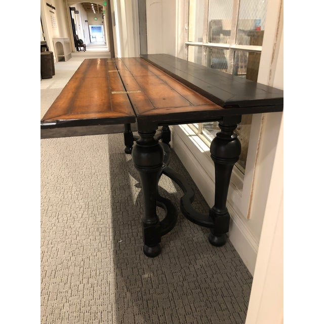 Magnificent Flip Top Console Table Gmtry Best Dining Table And Chair Ideas Images Gmtryco