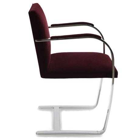 Knoll Brno armchair was designed by Meis van der Rohe in 1930 for his renowned Tugendhat House in Brno, Czech Republic and...