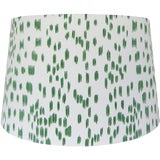Image of Green Les Touches Tapered Lamp Shade For Sale