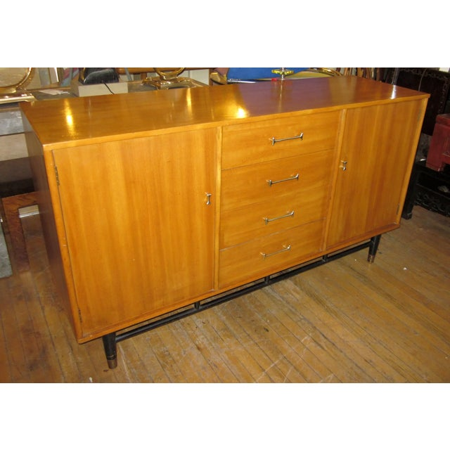 This is a Mid-Century Modern credenza designed by Milo Baughman for Drexel. This is the rarer of this collection due to...