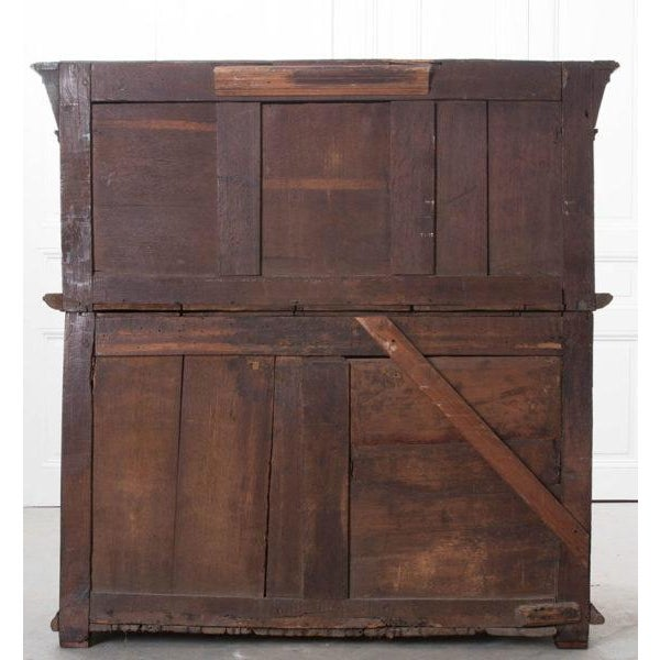 English 17th Century Charles II Oak Chest of Drawers For Sale - Image 12 of 13