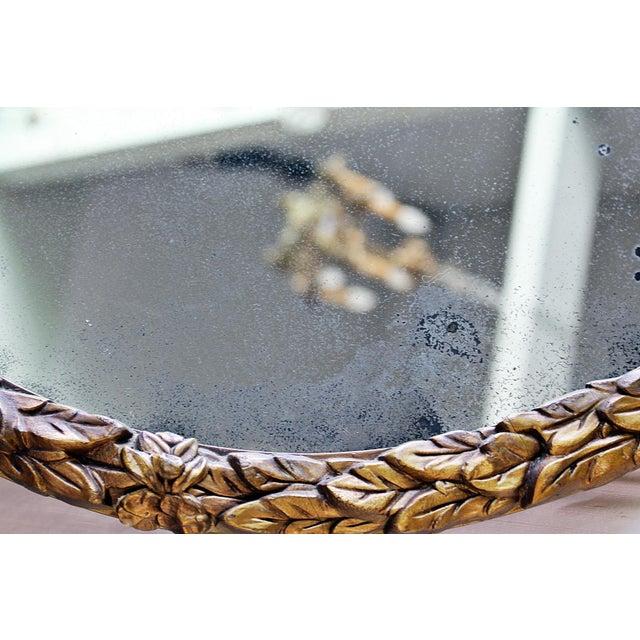 Oval Gilt Wood Mirror - Image 8 of 8