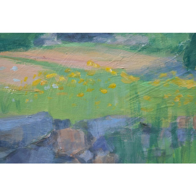 Pastoral Plein Air Contemporary Paintings by Stephen Remick - Set of 3 For Sale - Image 9 of 13