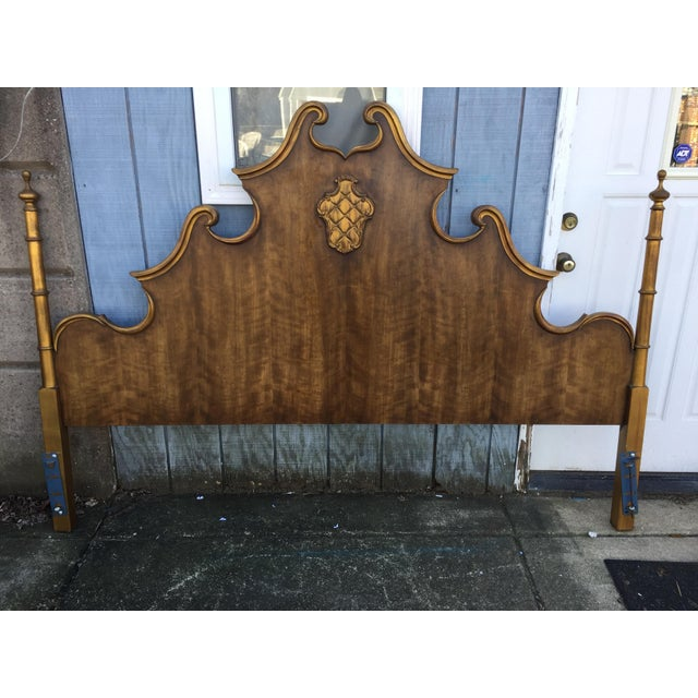 Vintage French Style King Size Headboard - Image 2 of 5