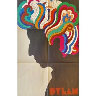 Mid/Late 1960s Milton Glaser Bob Dylan Poster For Sale