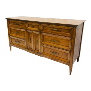 Vintage Mid Century Dresser by Permacraft For Sale