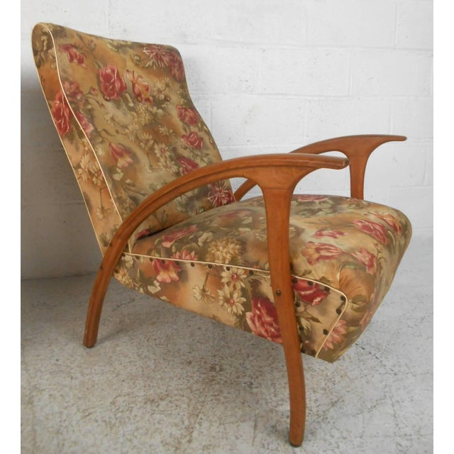 Pair of Paolo Buffa Style Armchairs For Sale In New York - Image 6 of 9