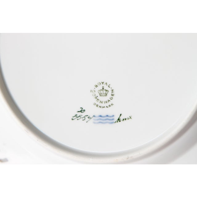 Royal Copenhagen Flora Danica Pierced Plates #20/3554 For Sale - Image 10 of 13