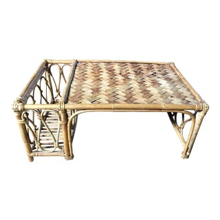 Rattan Breakfast Table
