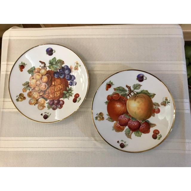 1930's German Bavarian China Fruit Plates - a Pair For Sale In Tampa - Image 6 of 6