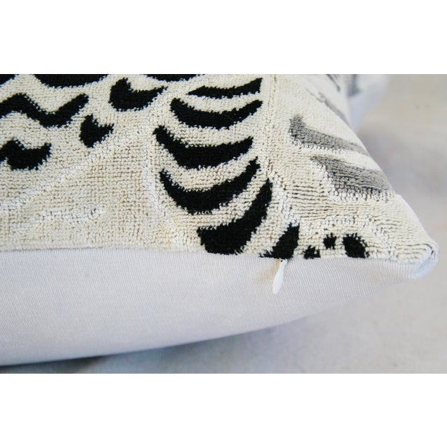 Clarence House Tibet Dragon Fabric Pillows - Pair - Image 11 of 11